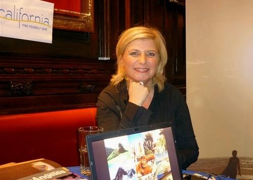 Murielle Nouchy qui représente, depuis octobre 2009, l'Etat de Californie