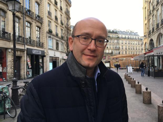 Stéphane Vallageas, président de l'antenne française de l'association GBTA. -CL