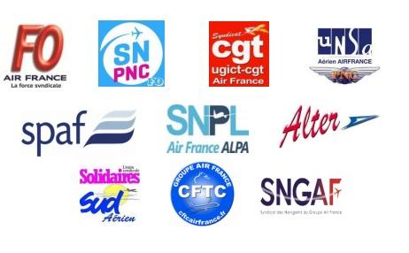 Air France : grève générale le 22 février 2018