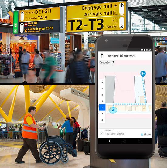 La technologie SITUM appliquée aux aéroports - Photo SITUM