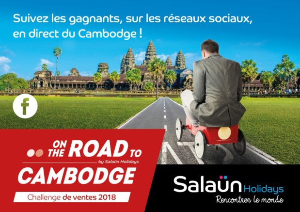 Salaün Holidays : 14 agents de voyages s'envolent au Cambodge