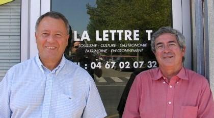 (Gche à Dte) Denys Michel, Rédacteur en chef et Alain Martinez, Directeur de Publication et correspondant de TourMaG.com