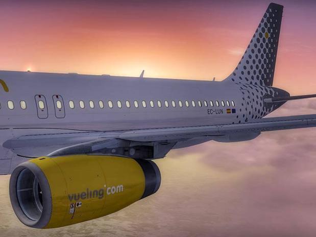 En développant en même temps Level et Vueling, le groupe IAG compte faire de la France l'un de ses marchés les plus importants © Finlande_spotting pour Vueling FB