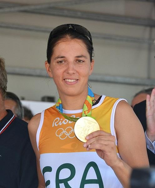 Charline Pico, médaillée olympique 2016 - DR Wikicommons