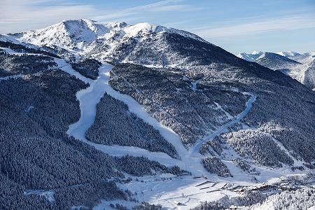 Les pistes de ski près d'Andorre - DR