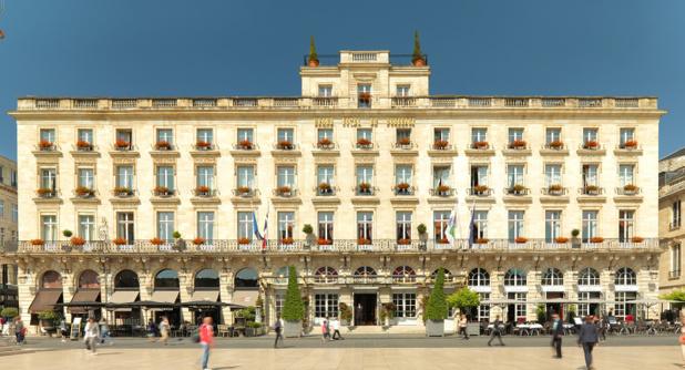 La façade du Grand Hôtel de Bordeaux & Spa - @D&D