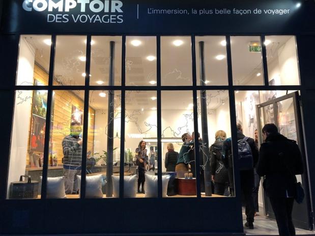 Inauguration de l'agence Comptoir des voyages à Lille - DR Comptoir