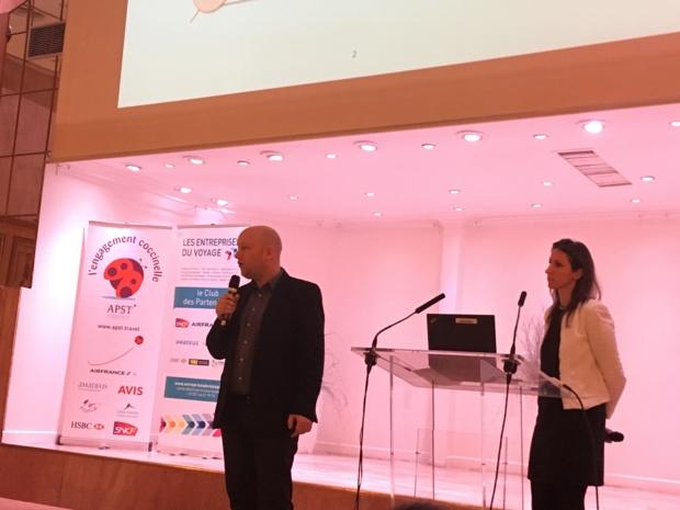 Yves Destrebecq et Céline Plachot, chargés de prévention contre la fraude chez HSBC. - CL