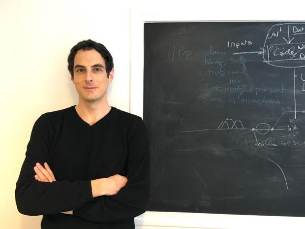 David Bessis, fondateur de Tinyclues a connu plusieurs vies dans une seule - Crédit photo : Tinyclues