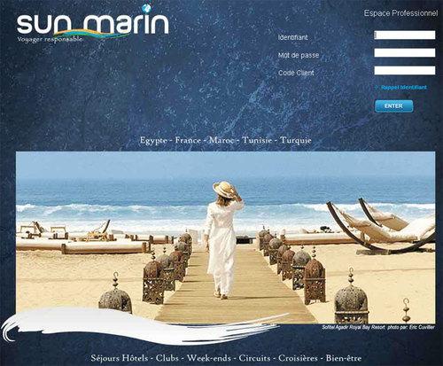 Sun Marin lance son site B2B