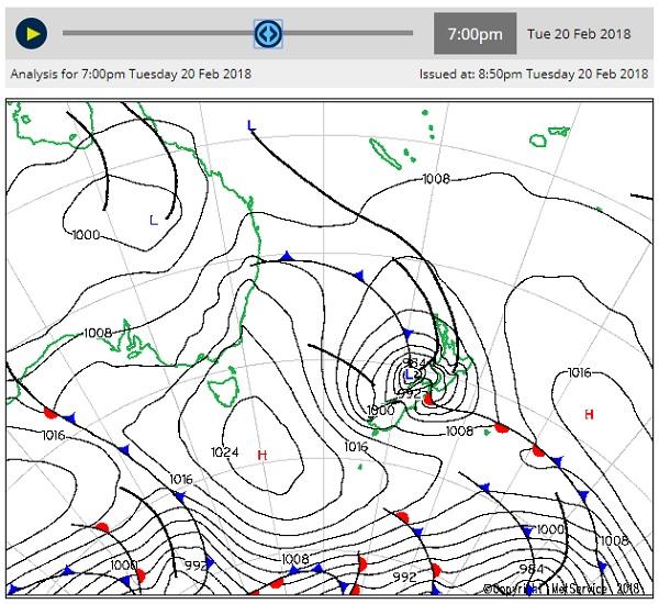 Vols perturbés en Nouvelle-Zélande — Cyclone Gita