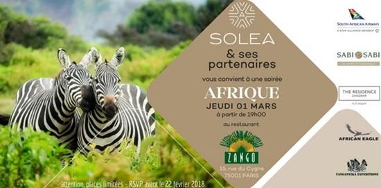 Solea met l'Afrique à l'honneur de son workshop