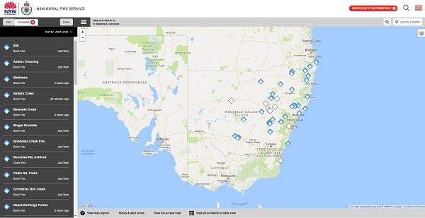 Capture écran : http://www.myfireplan.com.au/