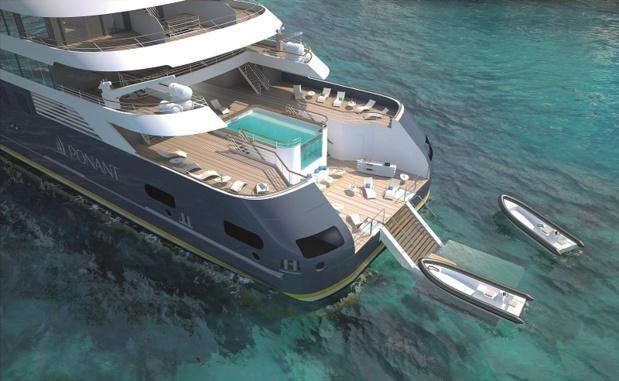 La marina du Ponant Explorers - DR Studio Ponant