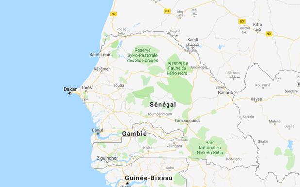 Le Ministre des Transports et des Transports aériens du Sénégal, en concertation avec le Ministre de la Santé publique, a communiquéb[ le 23 février 2018 (voir lettre ci-jointe) que la mesure de vérification systématique du carnet de vaccination contre la fièvre jaune pour des voyageurs arrivant à l'aéroport international AIBD est suspendue jusqu'à nouvelle ordre - Google MAPS