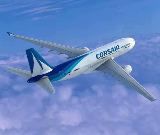 Le gouvernement malgache a remis en cause les droits de trafic de Corsair sur la ligne entre La Réunion et Madagascar - DR Corsair