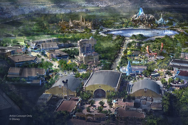 Disneyland Paris investit 2 milliards d'euros pour agrandir le Walt Disney Studios - Crédit photo : Disneyland Paris