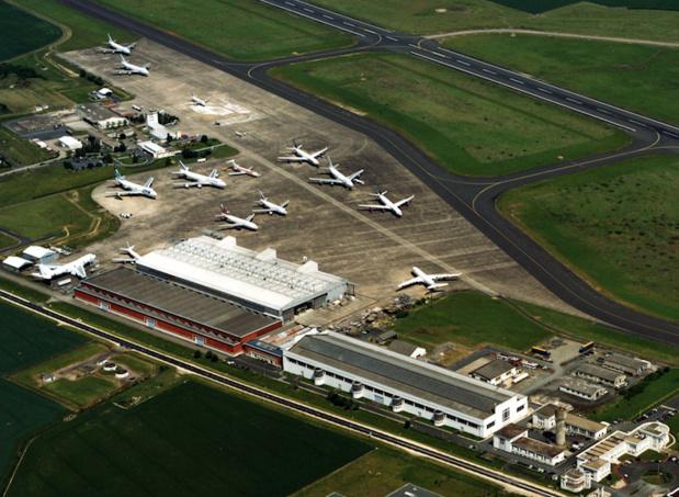 L'aéroport Marcel Dassault de Châteauroux (Indre) veut, malgré la proximité d'autres aéroports, s'ouvrir aux activités passagers, posant la question du maillage d'aéroports dans l'Hexagone © DR Châteauroux métropole