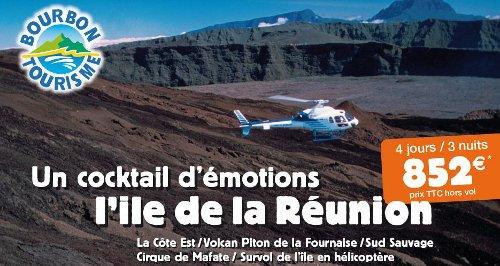 """Bourbon Tourisme vous propose une offre spéciale """"Incentive à la Réunion"""" sur 4 jours/3 nuits à 852 euros TTC par personne"""