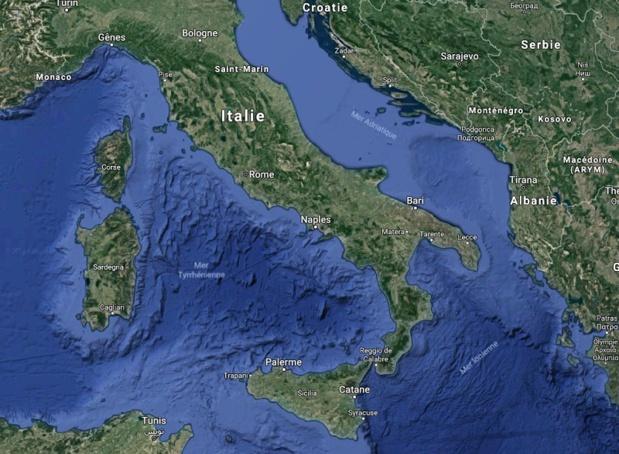 Le marché italien est très dynamique même si ce n'est pas le cas de la compagnie nationale. Le trafic intérieur a été progressivement accaparé par les compagnies « low cost ». Il reste le marché international et particulièrement le long-courrier - Photo GoogleMaps
