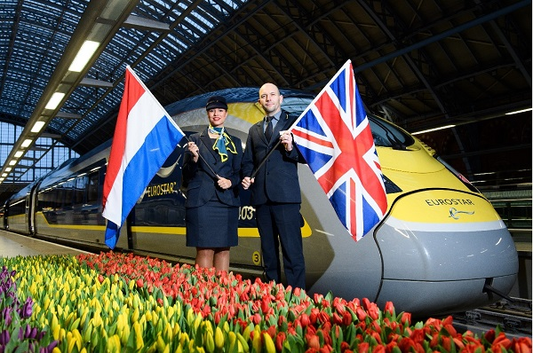 La nouvelle ligne d'Eurostar entre Londres et Amsterdam partira le 4 avril 2018 - Crédit photo : Eurostar