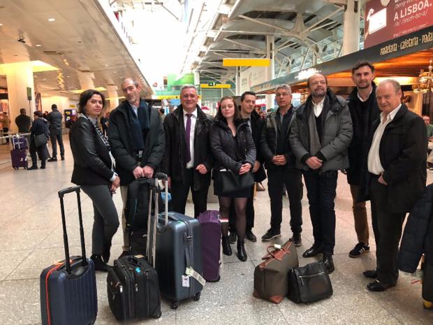 La délégation française composée d'agences MICE et des représentants de TAP Portugal et de Tourisme Portugal - Photo JdL