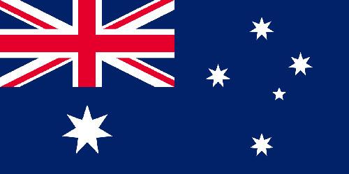 Le drapeau australien - DR