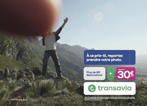 Transavia : ne supprimez plus vos photos ratées !