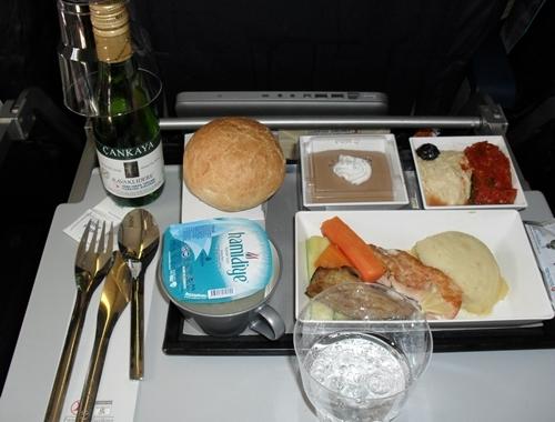 Turkish airlines la meilleure classe co europ enne for Air france interieur classe economique