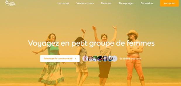 Copines de voyages vient de créer la marque Madame voyage, pour les femmes de plus de 45 ans. - DR Madame Voyage