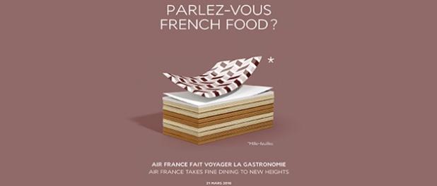 """Air France est partenaire de l'opération """"Goût de/Good France"""" - Crédit photo : Air France"""