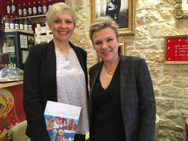 Natacha Demoux, directrice des ventes et Tatiana Maltseva, directrice de la production. - CL
