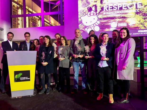 Les 6 lauréats des PTD, lors de la remise des Prix /photo DR