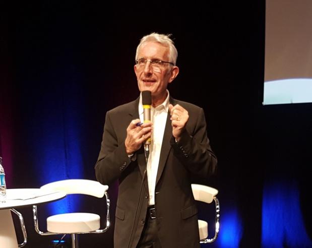 Guillaume Pépy avait pris la parole aux journées des Entrepreneurs du voyage à Lille - Photo CE