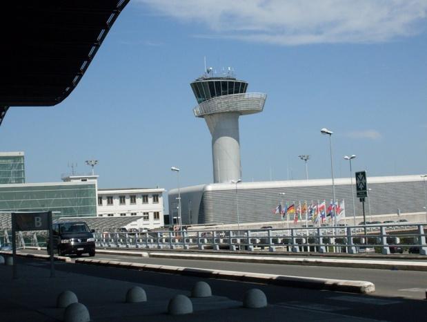 aéroport Bordeaux Mérignac - Photo creative commons wikipedia