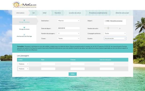Le myturquoise.pro 2.0 est né - Capture écran : myturquoise.pro