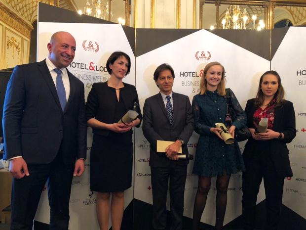Michel Simiaut (milieu), patron de Jetairways, faisait aussi partie du Jury/ /photo JDL