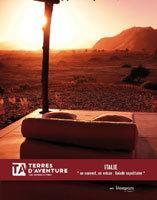 Terres d'Aventure : 17 nouveautés dans la brochure Rando-lodge 2010-2012