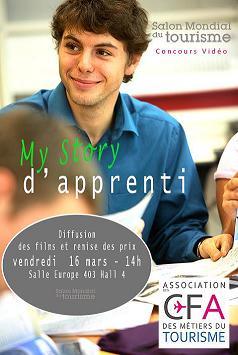 « My story d'apprenti dans le tourisme » le concours vidéo des CFA