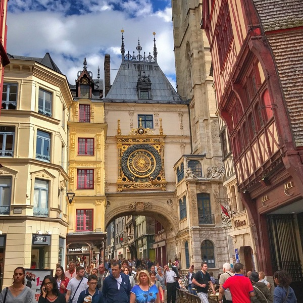 Rouen fait le plein de projets touristiques, ouverture de 3 hôtels en 2019 - Crédit photo : compte Twitter @wilCrd