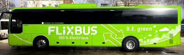 Prototype du car électrique © B.E. green/FlixBus