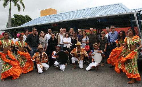 Le groupe des personnalités invitées par Corsairfly, professionnels du tourisme et des médias - Photos: JB/Tourmag.com