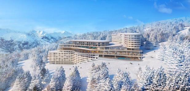 Le dimanche 16 décembre 2018 ouvrira son nouveau resort Les Arcs Panorama - DR Club Med
