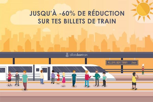 Allons Bon Train sélectionne des trajets aux tarifs de groupe, avec des réductions allant de 30 à 60 % - Crédit photo : Allons Bon Train