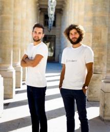 Les deux jeunes hommes se sont lancés dans l'aventure de la start-up en juillet 2017 - Crédit photo : Allons Bon Train