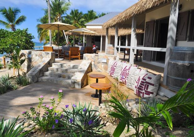 L'île-boutique du Cooper Island Eco Beach Club peut d'ores et déjà accueillir les visiteurs - DR