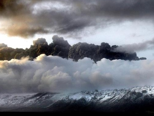 Le nuage de cendres attendu dans le sud de la France
