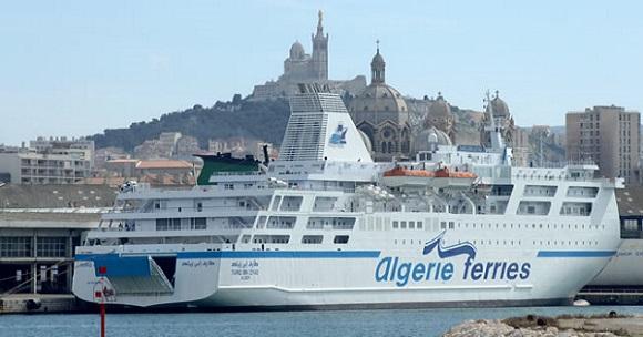 Le Tarik Ibn Ziyad sera lui rénové suite à l'incendie de 2017 - Crédit photo : Algérie Ferries