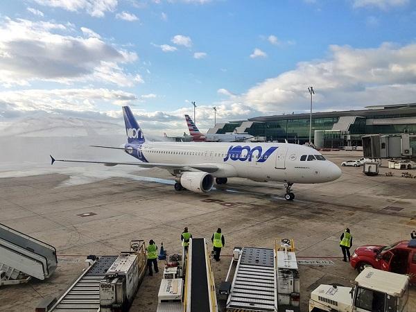 Le groupe Air France programme 78 nouvelles liaisons pour l'été 2018, Joon récupère 10 lignes - Crédit photo : compte Twitter @weflyjoon