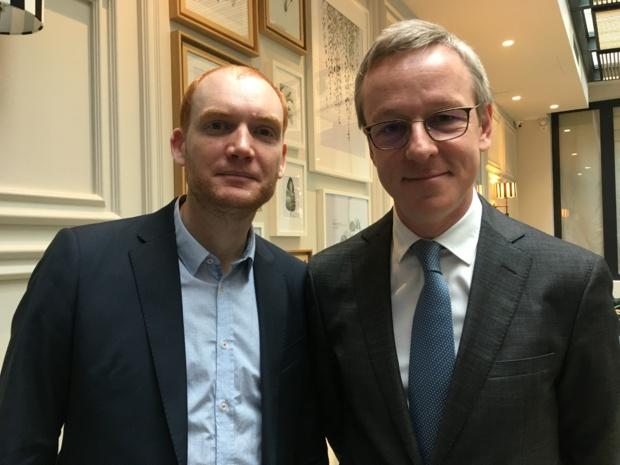 Olivier Cohn, directeur général de Best Western France et Quentin Vandevyver, président de Best Western France. - CL